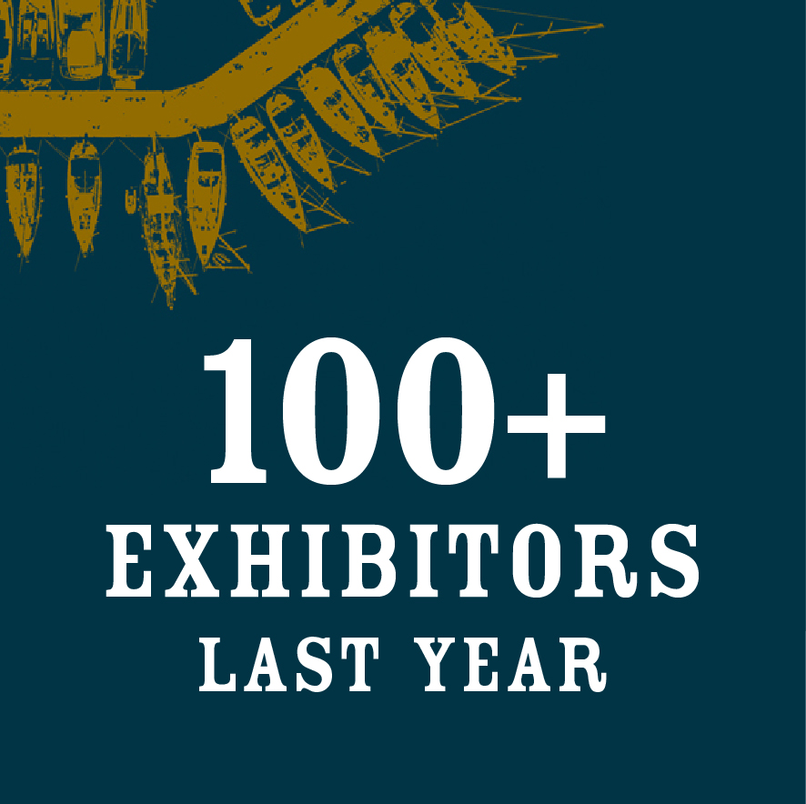 100 Exhibitors in 2018