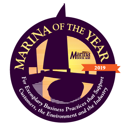 Marina of the Year logo